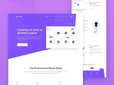 Homepage - B2B Product Website website ui ux web design template user interface homepage typography app dasthboard saas b2b product android ios app form element kit experience minimal concept dashboard landing page crypto currency ux blockchain services contact agency business finance