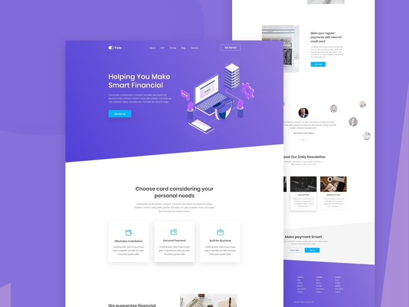 Home Page - Xpay Payment illustration contact form support blockchain services contact android ios app new trend clean website agency business finance branding ecommerce bitcoin money dashboad ui ux bank credit debit card payment template mobile app ios android clean b2b sass web landing page