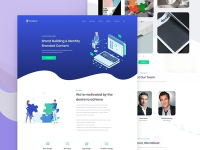 Agency Landing Page