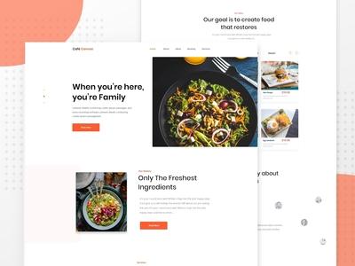 Home Page : Restaurant Website