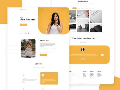 Home Page : Personal Portfolio