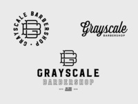 Grayscale Barbershop Branding