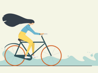 Illustration : An evening ride