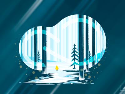 Adobe Forest Illustration