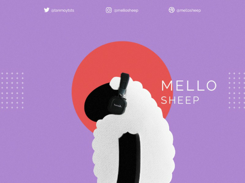 MelloMusic art adobe webdesign idea music photoshop illustration design ui