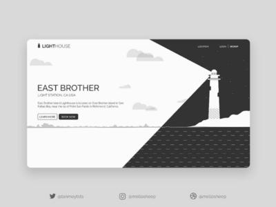 Lighthouse inspired UI