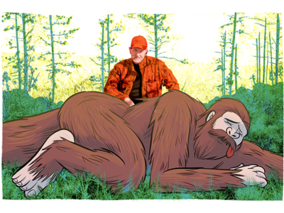 Weird State Laws state laws photo illustration big foot