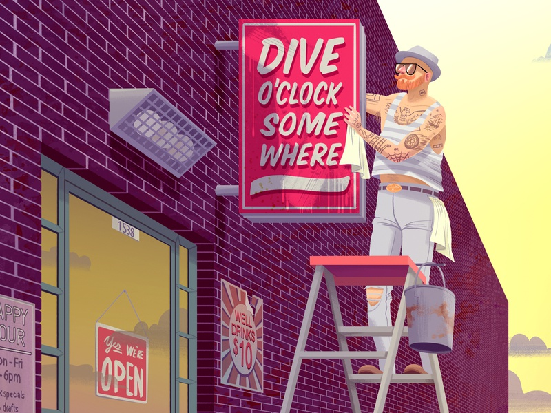 Dive Bar Gentrification hipster divebar
