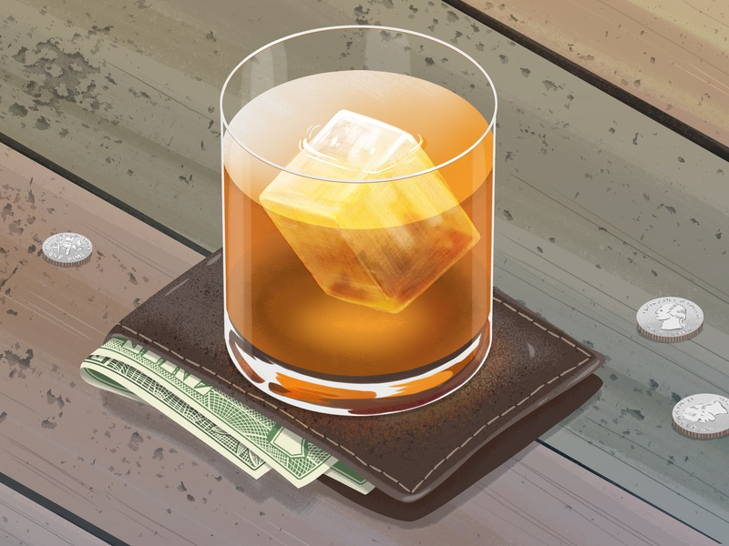 Best Whiskies for Your Money still life money whiskey whisky