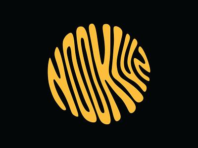 Nooklyn Lettering color vector logo art lettering design graphic design branding