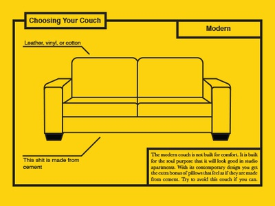 Couch Infographic infographic vector illustration icon graphic design type typography graphic design