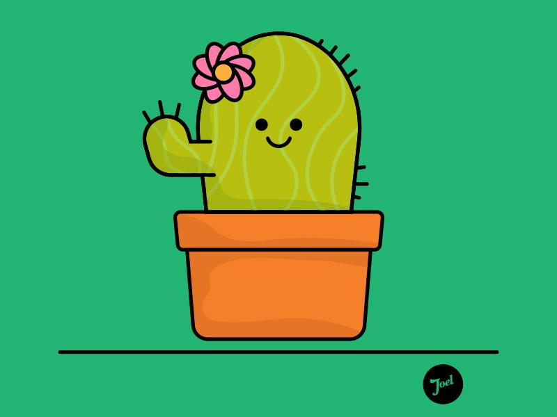 "Sketchbook no. 8 ""cute cactus"" icon illustration logo graphic design graphic design"