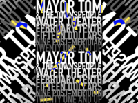 Mayor Tom & the Townspeople poster
