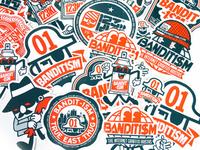 123klan Stickers Bandit1sm 2013