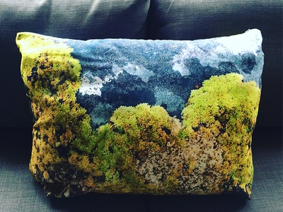 Stone Mosses Pillow