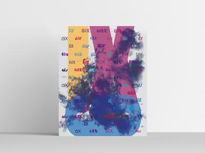 6ix Typographic Art