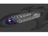 VR Arcade - Floorplan Illustration - Concept