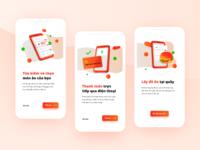 UX/UI Food-court Ordering App Design - Onboarding