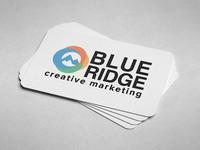 Blue Ridge Creative Marketing Logo Design