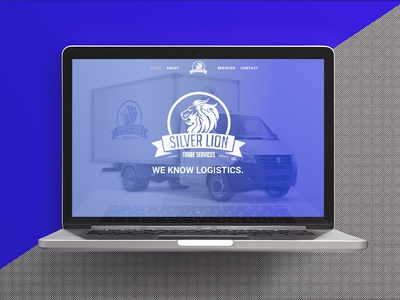 Silver Lion Trade Services Web Design graphic design ui ux digital marketing mockup macbook pro website design web design