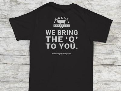 Big Kyle BBQ T-Shirt Design branding t-shirt design t-shirt northern virginia barbecue bbq restaurant big kyle bbq
