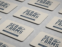 Sea Farms, inc. Business Card Design (back)