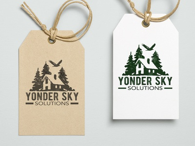 Yonder Sky Solutions Logo Design