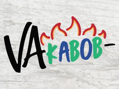 VA Kabob - Logo Design foodie blue ridge creative marketing rva richmond virginia kebab kabob graphic design brand identity branding logo design logos food and drink food truck food