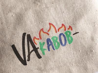 VA Kabob Logo Mockup