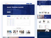 a financial website