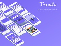 Travelo App design