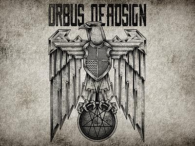 Divine Providence heavymetal tattoodesign darkart orbusdeadsign deathmetal artworkforsale teeartwork graphictee clothingline bandmerch heraldic