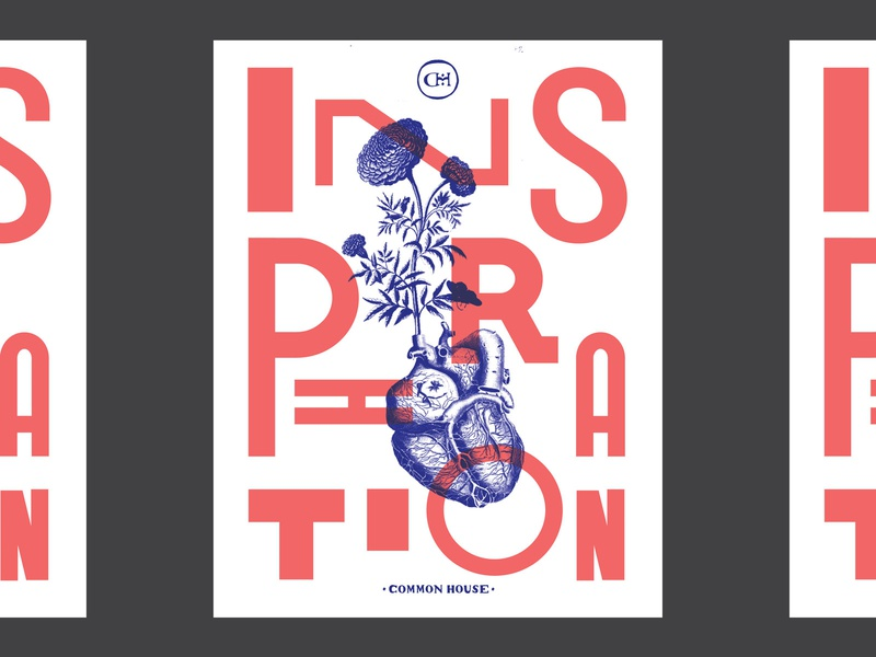 Inspiration Poster design branding illustration type collage geometry layout