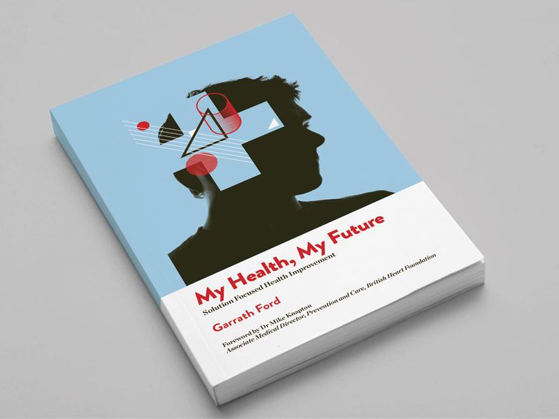 Future Health collage geometric book cover