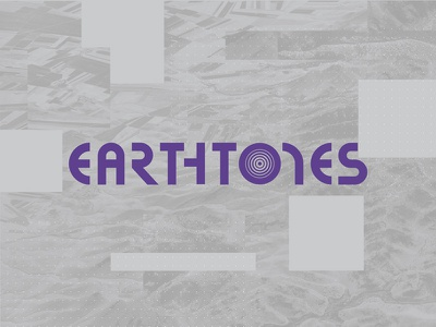 Earthtones logo texture app identity