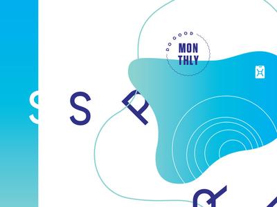 SSP badge gradient layout branding