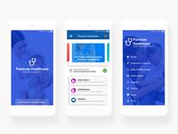Health Card App Mockup