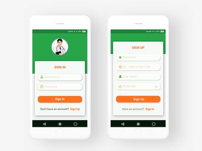Medical_Mobile_App Design