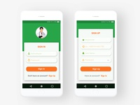 Medical_Mobile_App Design ux ui typography mobile healt graphic doctor design creativity colors care app