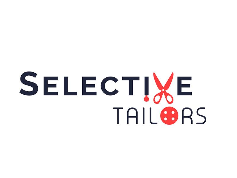 Selective Tailors Logo identity branding creative logo