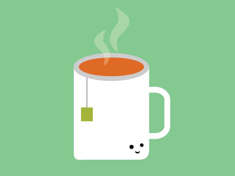 Cup of Tea graphics creative design illustration vector