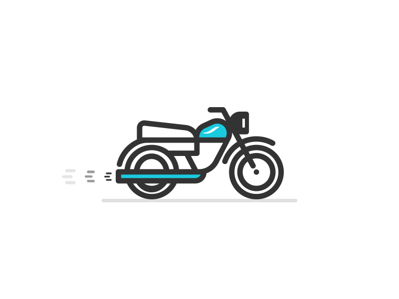 Bike vector graphics creative design illustration vector