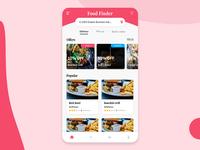Restaurant: Landing page design