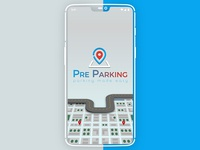 Parking App: Splash screen design