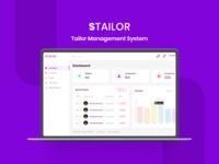 STailor Management System | Web Admin Panel