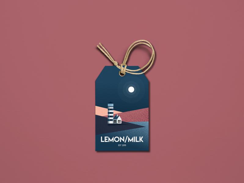 Lemon milk 2d illustration flat minimalist affinity vector design