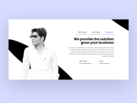 About me Design