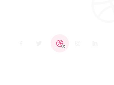 Social Share | Daily UI 010 | Sharing dailyui ui design daily ui daily ui challenge daily 100 branding dribble share button share social app social network social media social