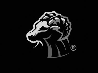 bull logo design esport icon illustration branding tshirt art mark identity design logo