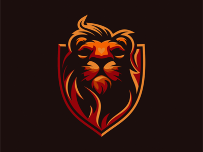 lion logo design lions lion king lion head lion logo esport icon illustration branding tshirt art mark identity design logo